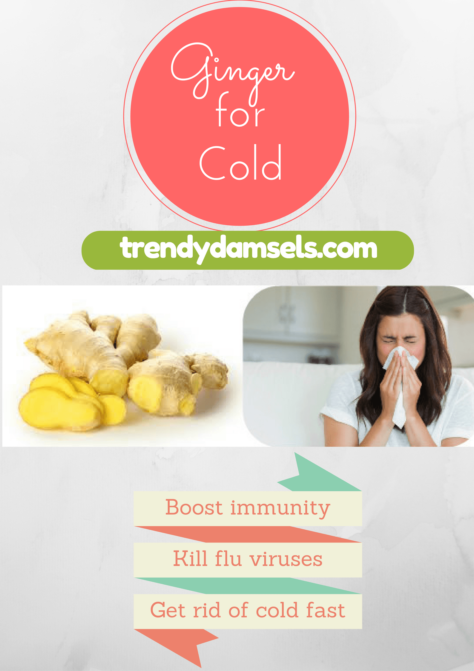 ginger for cold