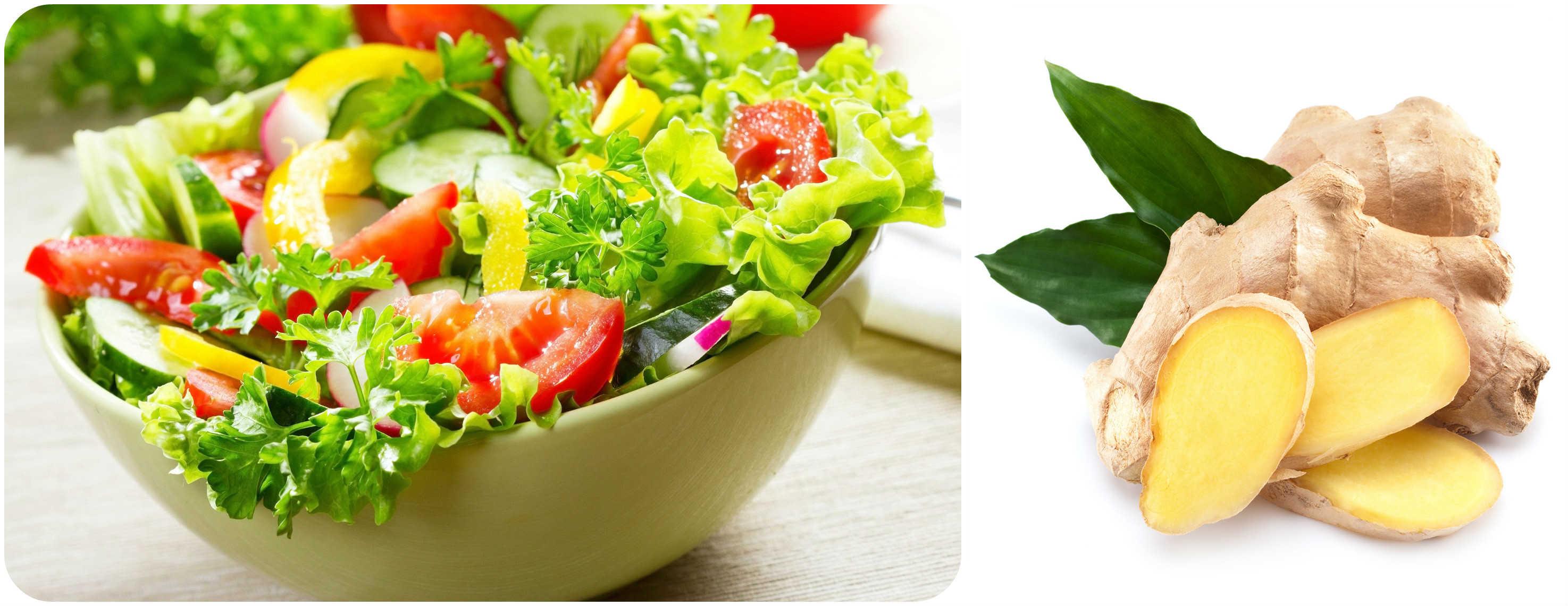ginger-salad