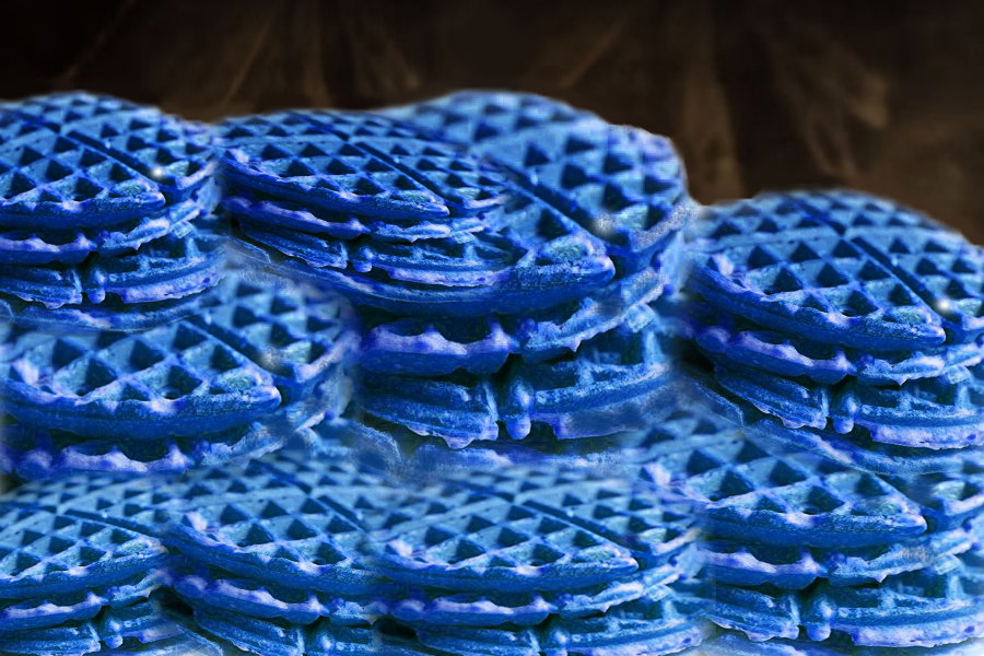 blue waffles disease images