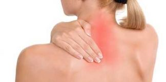 inflamed upper back muscles