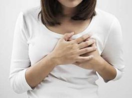 shooting pain in breast