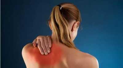 upper left back pain