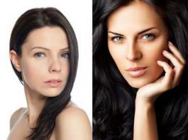 High cheekbones vs low cheekbones