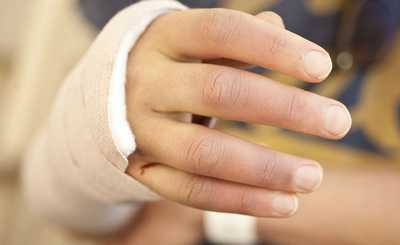 dislocated wrist