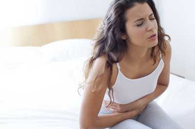 stomach pain when coughing