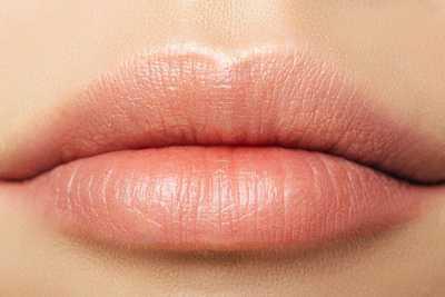 burning lips