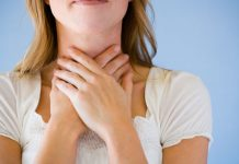 Gurgling sound in throat