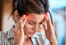 headache when bending over